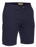 Mens Stretch Cotton Cargo Short