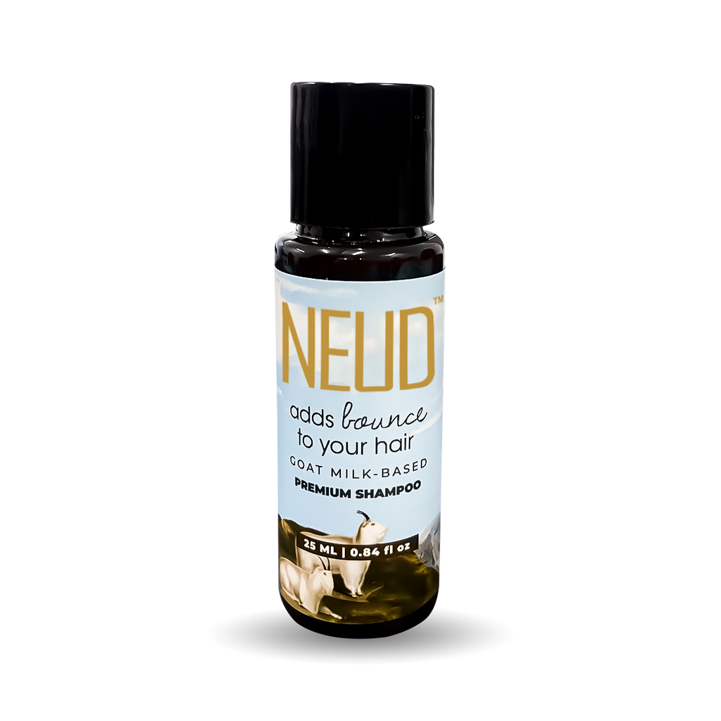 NEUD Trial Pack - Premium Goat Milk Shampoo for Men & Women (25 ml)