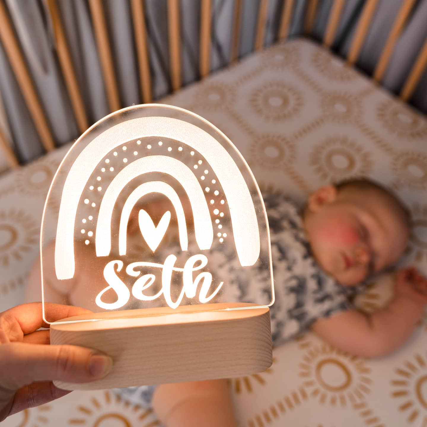 Baby Gift Personalised Night Lights