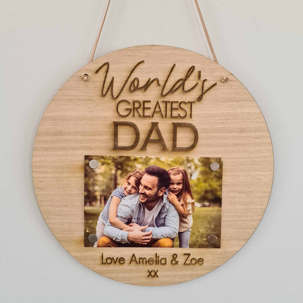 Father's Day Frame - DAD 1 Photo