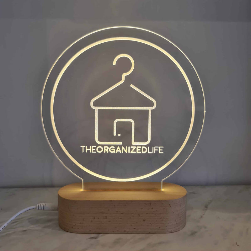 Plaque ONLY - Business Logo Light