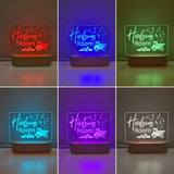 Personalised Baby Night Light - Truck