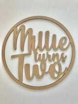 custom wedding sign