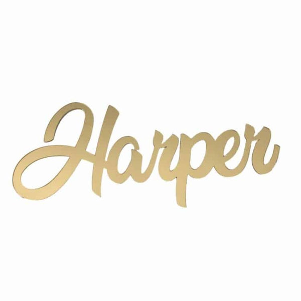 Personalised Baby Gifts Wall Sign Harper 60cm