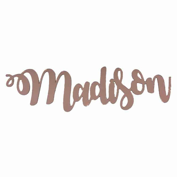 Personalised Baby Gifts Wall Sign Maddison 60cm