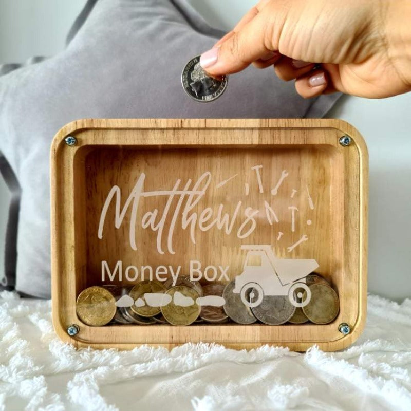 Custom Money Box - Truck Design
