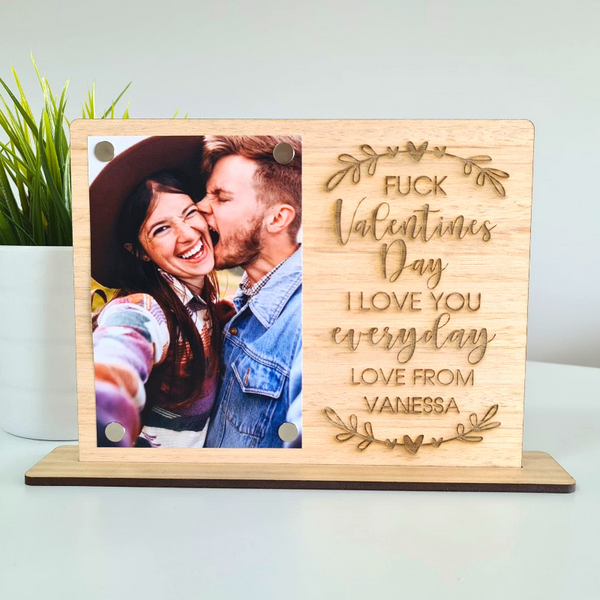 Personalised Valentines Day Gift Photo Frame - Every Day