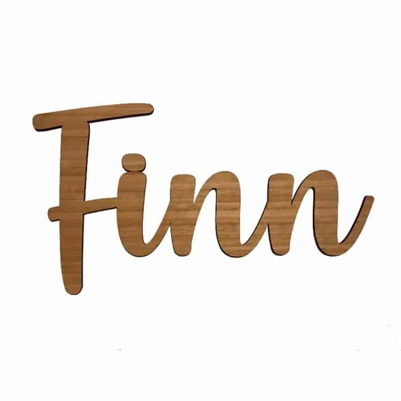 Personalised Baby Gifts Australia Wall Sign Style Finn 60cm
