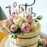 thirty cake topper