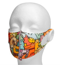 Load image into Gallery viewer, Anti-Microbial Masks (Patterns, Kids and Adults)