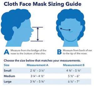 Anti-Microbial Masks (Solids, Kids and Adults)