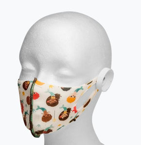 Anti-Microbial Masks (Patterns, Kids and Adults)