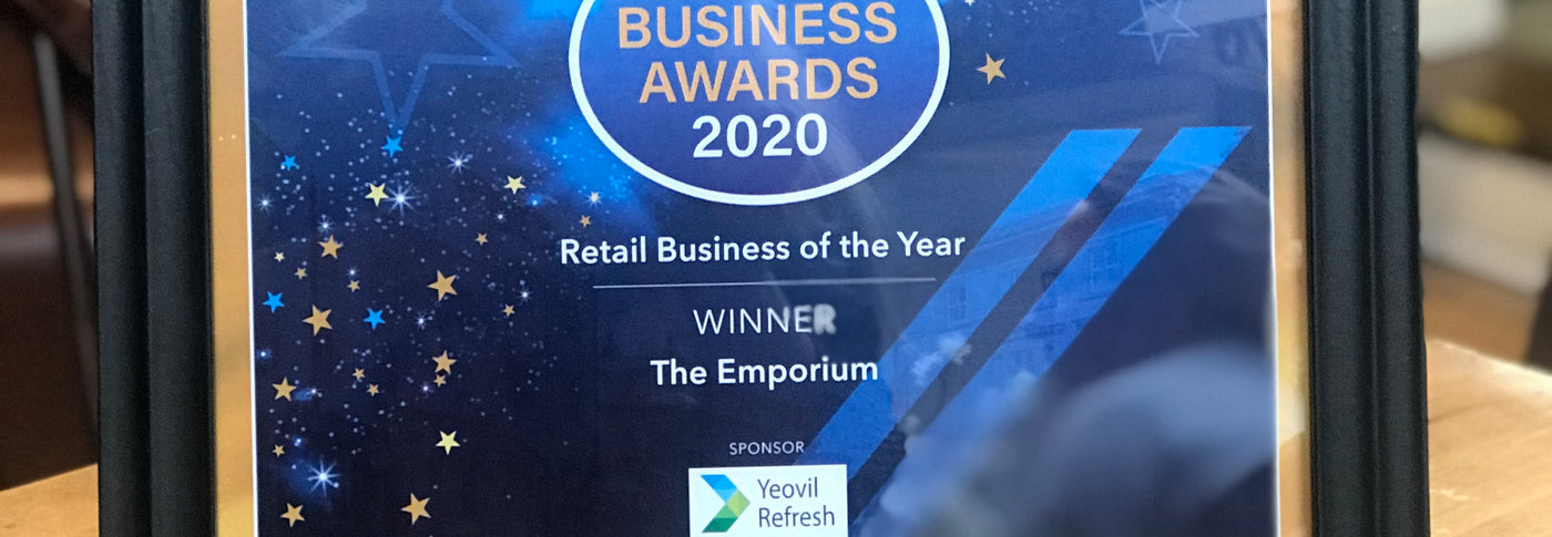 We are so delighted to have received an award in the recent Yeovil Business Awards 2020, hosted by Yeovil Chamber.