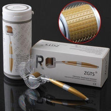 Load image into Gallery viewer, ZGTS Derma Roller Gold - Titanium - Crystal Market