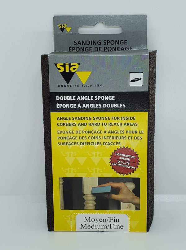 Sia Two Sided Sponge Dual Angle Block