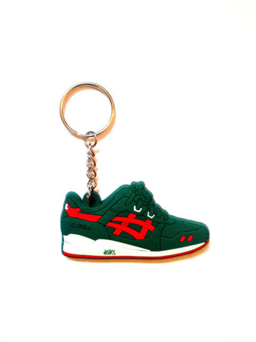 ASICS GEL LYTE III - GREEN/RED