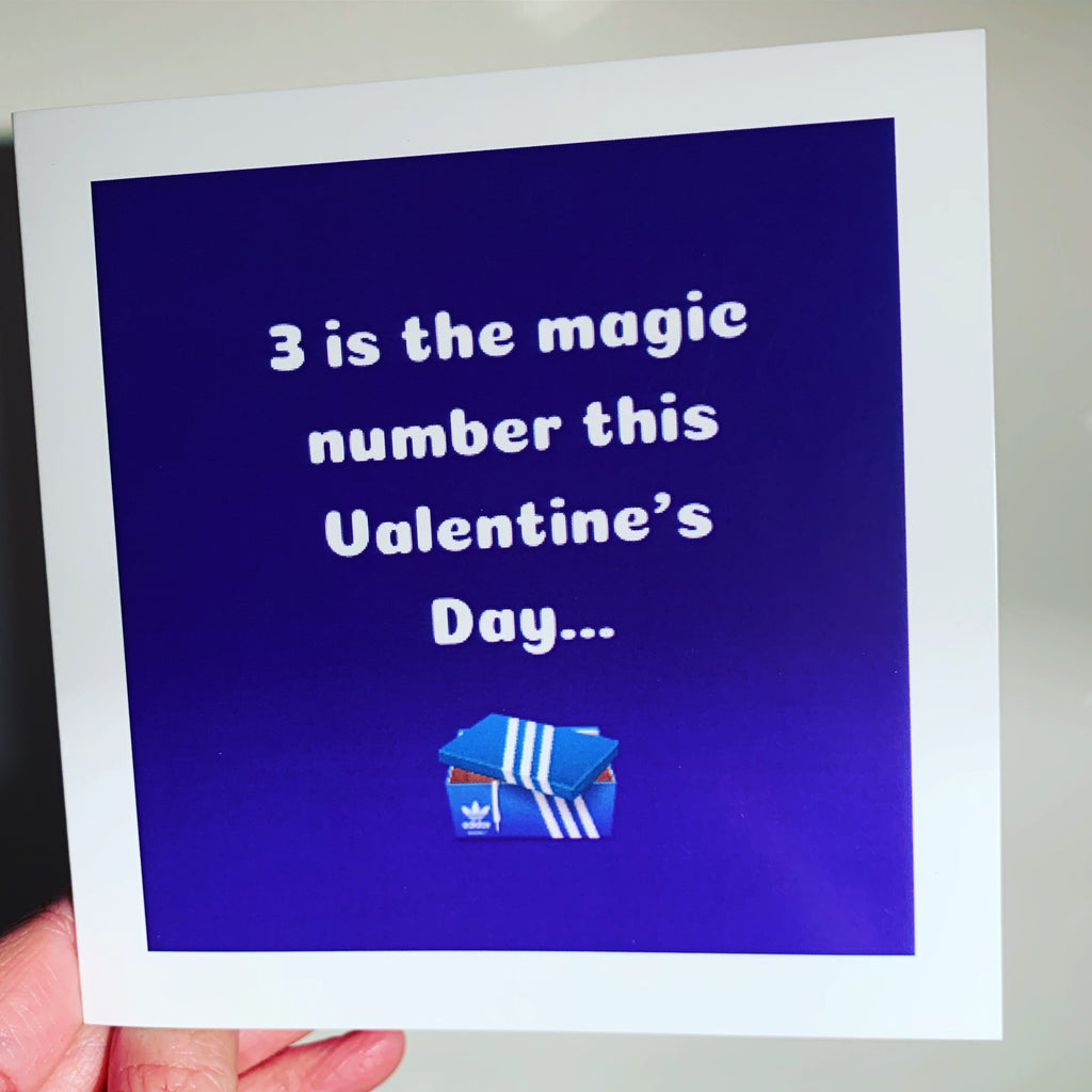 Valentine's Day Card - 3 is the magic number this Valentine's Day