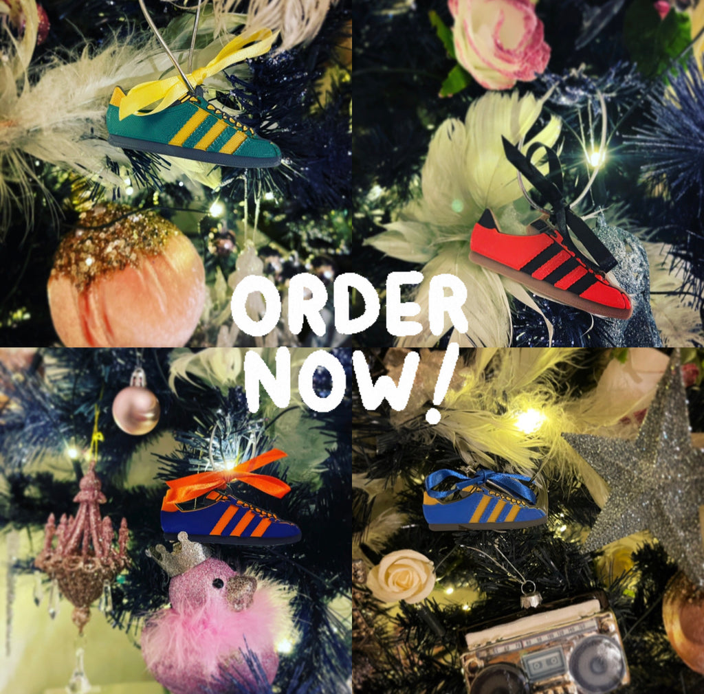 Adidas Christmas decorations - 4 pack - Preorder