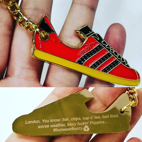 Adidas London Bottle Opener - Re stock pre-order