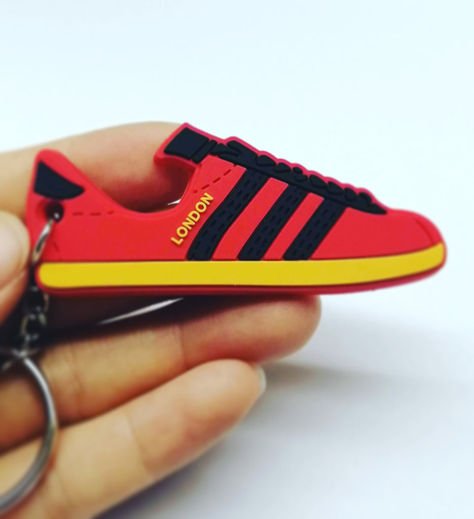 Adidas London - PVC Rubber keyring