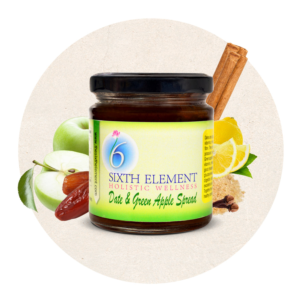 Date and Green Apple Spread | Sixth Element®