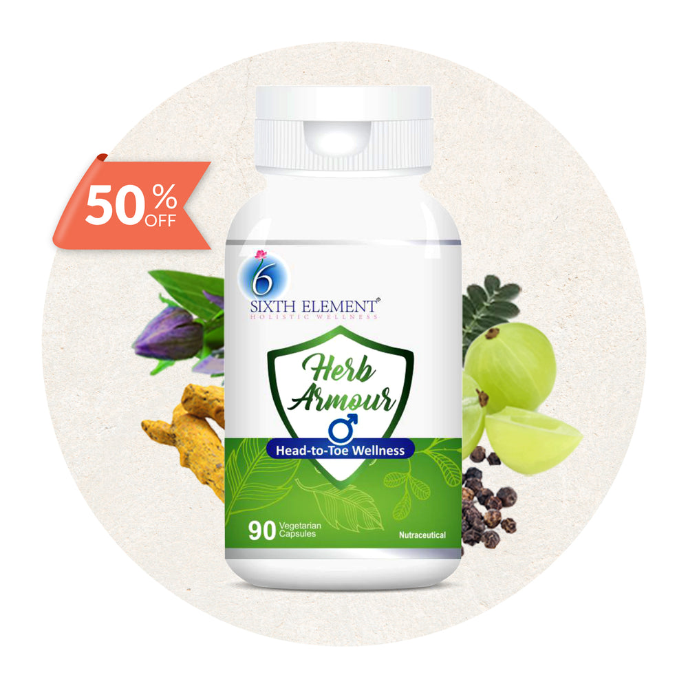 Herb Armour - 1 bottle 50% off