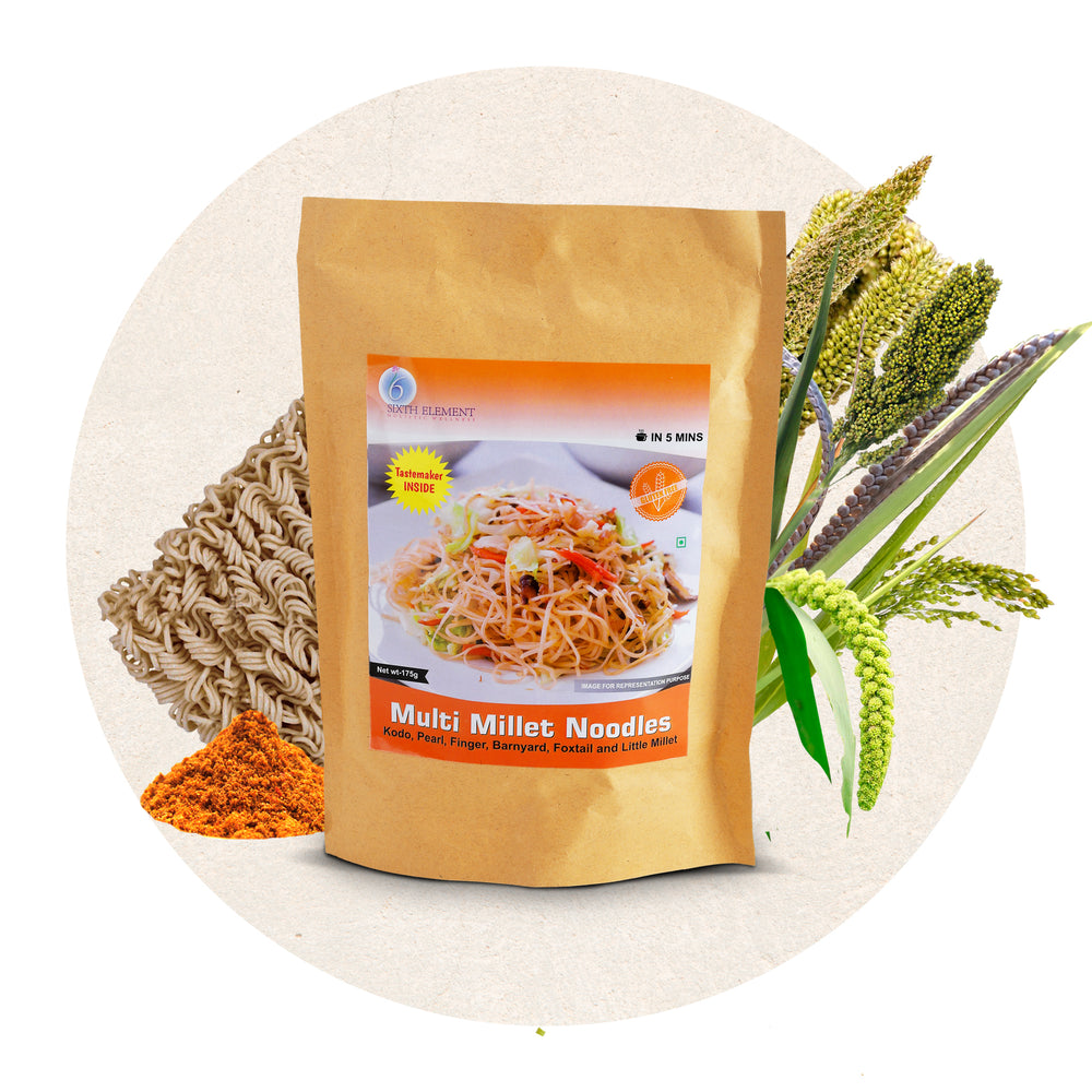 Multi Millet Noodles - Sixth Element®