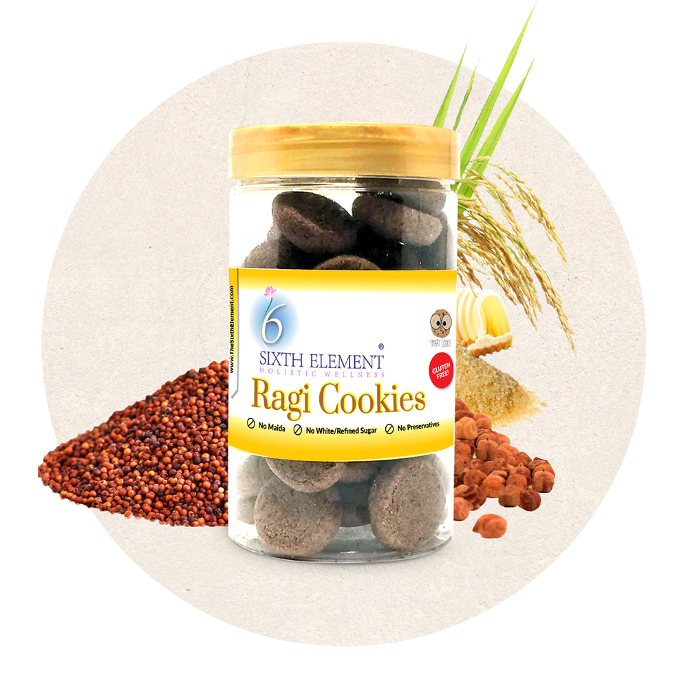Ragi Cookies Healthy Snacks