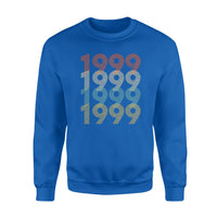 Year Of Birth Gift Best Gift For Birthday 1999 - Standard Crew Neck Sweatshirt