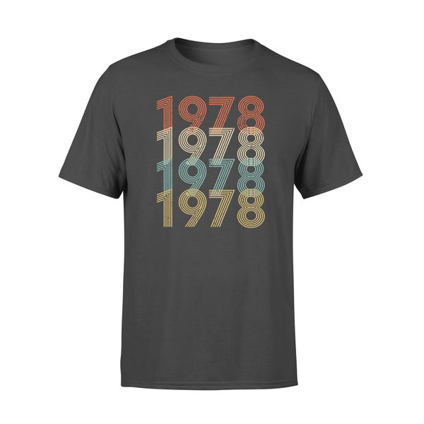 Year Of Birth Gift Best Gift For Birthday 1978 - Standard T-shirt