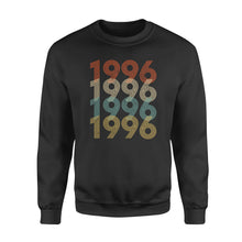 Load image into Gallery viewer, Year Of Birth Gift Best Gift For Birthday 1996 - Standard Crew Neck Sweatshirt
