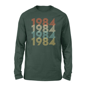Year Of Birth Gift Best Gift For Birthday 1984 - Standard Long Sleeve