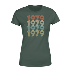 Year Of Birth Gift Best Gift For Birthday 1979 - Standard Women's T-shirt