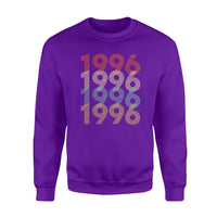Year Of Birth Gift Best Gift For Birthday 1996 - Standard Crew Neck Sweatshirt