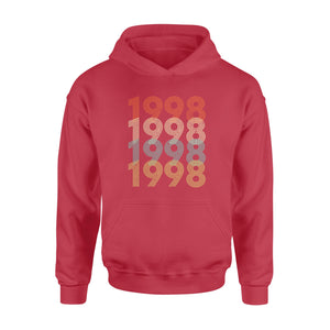 Year Of Birth Gift Best Gift For Birthday 1998 - Standard Hoodie