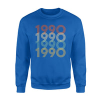 Year Of Birth Gift Best Gift For Birthday 1990 - Standard Crew Neck Sweatshirt