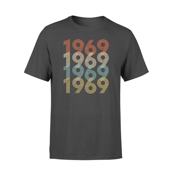 Year Of Birth Gift Best Gift For Birthday 1969 - Standard T-shirt