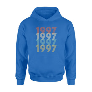 Year Of Birth Gift Best Gift For Birthday 1997 - Standard Hoodie