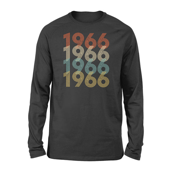 Year Of Birth Gift Best Gift For Birthday 1966 - Standard Long Sleeve