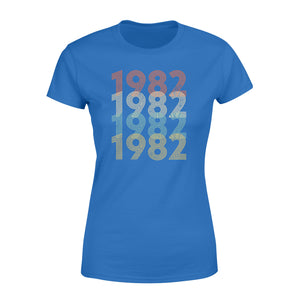 Year Of Birth Gift Best Gift For Birthday 1982 - Standard Women's T-shirt