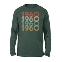 Load image into Gallery viewer, Year Of Birth Gift Best Gift For Birthday 1960 - Standard Long Sleeve