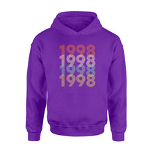 Load image into Gallery viewer, Year Of Birth Gift Best Gift For Birthday 1998 - Standard Hoodie