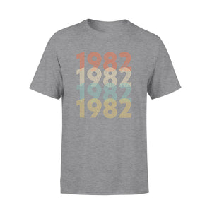 Year Of Birth Gift Best Gift For Birthday 1982 - Standard T-shirt