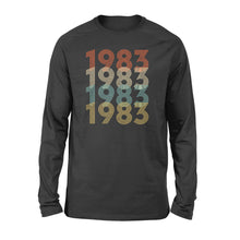 Load image into Gallery viewer, Year Of Birth Gift Best Gift For Birthday 1983 - Standard Long Sleeve