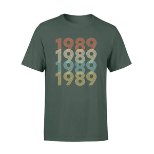 Year Of Birth Gift Best Gift For Birthday 1989 - Standard T-shirt