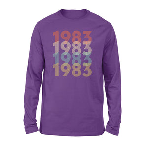 Year Of Birth Gift Best Gift For Birthday 1983 - Standard Long Sleeve