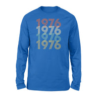 Year Of Birth Gift Best Gift For Birthday 1976 - Standard Long Sleeve