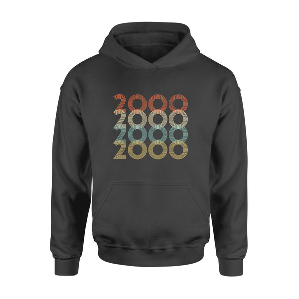 Year Of Birth Gift Best Gift For Birthday 2000 - Standard Hoodie