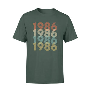 Year Of Birth Gift Best Gift For Birthday 1986 - Standard T-shirt