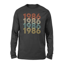 Load image into Gallery viewer, Year Of Birth Gift Best Gift For Birthday 1986 - Standard Long Sleeve